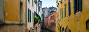 Venedig Schluchten